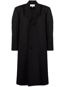 Maison Margiela single-breasted cotton coat