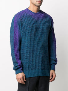 Marni gradient effect jumper