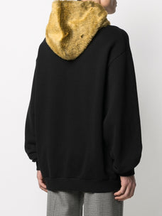 Marni logo-embroidered oversized hoodie