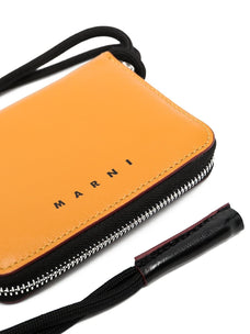 Marni zip-around logo wallet