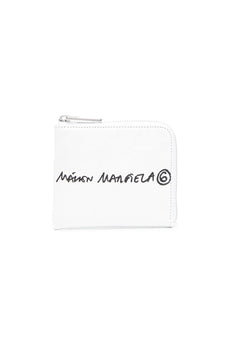 Mm6 logo-print wallet