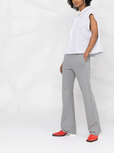 Mm6 straight-leg track pants