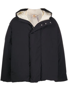 Oamc hooded down jacket