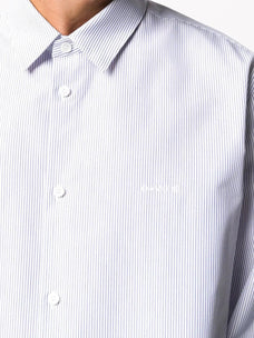 Oamc Mark micro striped shirt