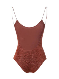 Oseree Swimwear glittered swimsuit