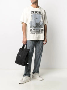Rhude Nice-print cotton t-shirt