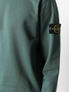 Stone Island compass logo-patch sweatshirt