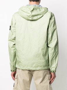 Stone Island zip-front hooded jacket