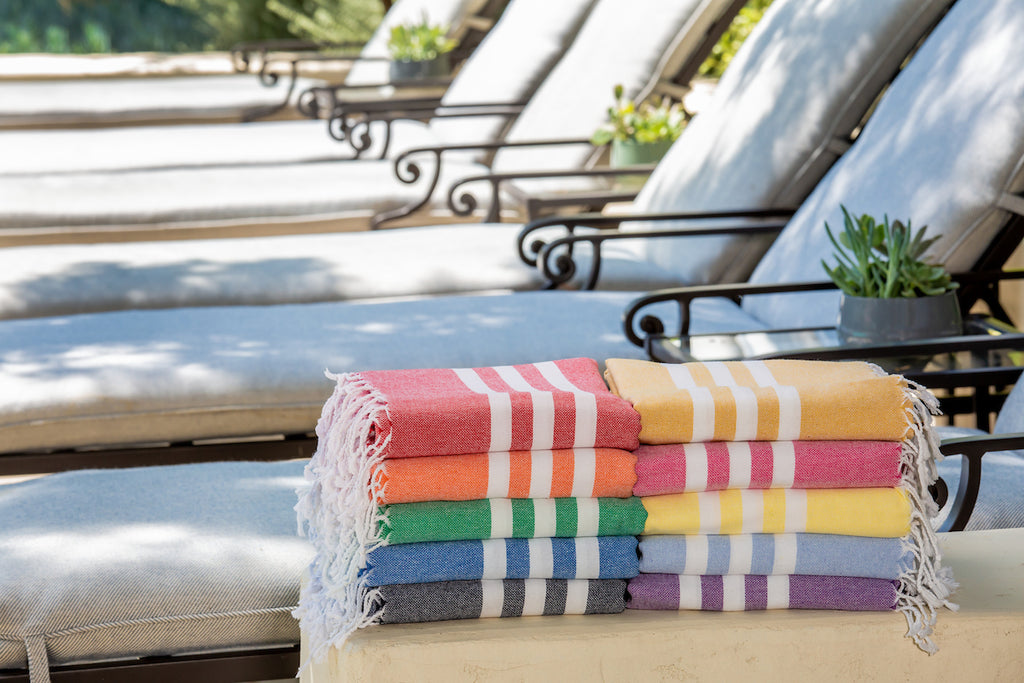 Club Turkish Beach Towel