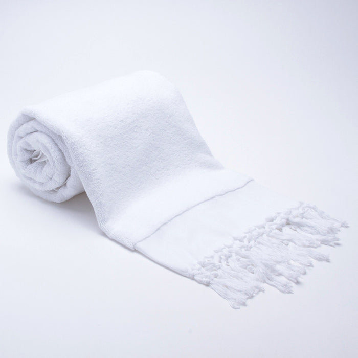 Bath Towel Gift Set - White