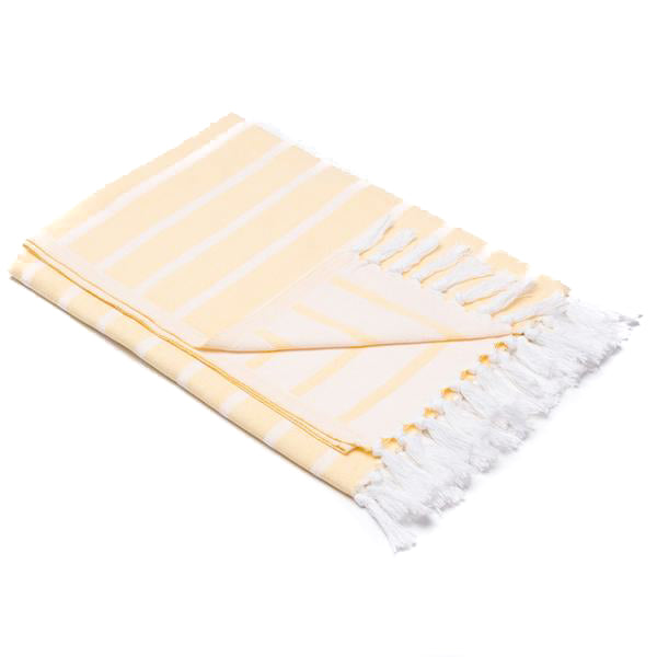 Palisades Turkish Beach Towel - handloomed