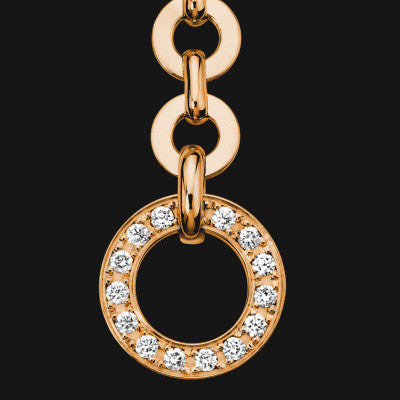 18k Dangling Pendant Earrings