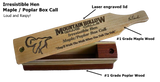 Irresistible Hen Maple / Poplar Box Call