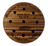 Premium Zebra Wood Double Slate Friction Call