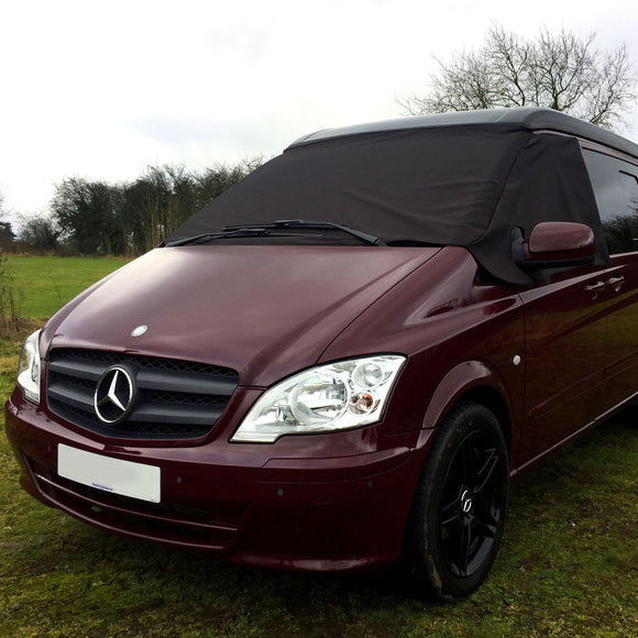 Mercedes Vito W639 Screen Cover - Deluxe Plain