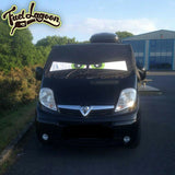 Trafic, Primastar, Vivaro Screen Wrap - Arthur Eyes