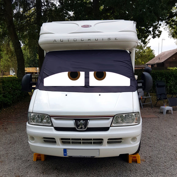 Ducato, Boxer, Relay Motorhome Screen Wrap 1993 - 2006 - Danny Eyes