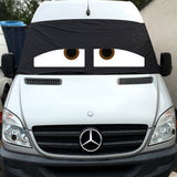 VW Crafter, Mercedes Sprinter Screen Cover Eyes - Danny