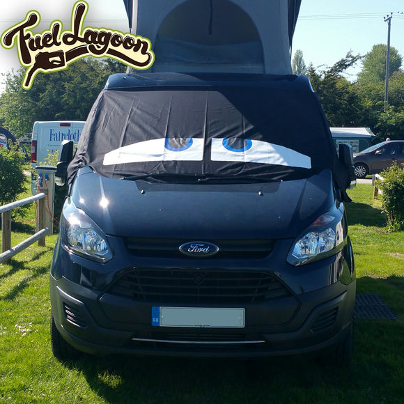 Ford Transit Custom Screen Wrap - Danny Eyes