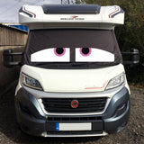 Ducato, Boxer, Relay Motorhome Screen Wrap - Danny Eyes