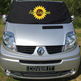 Trafic, Primastar, Vivaro Van Screen Wrap -  FL Sunflower