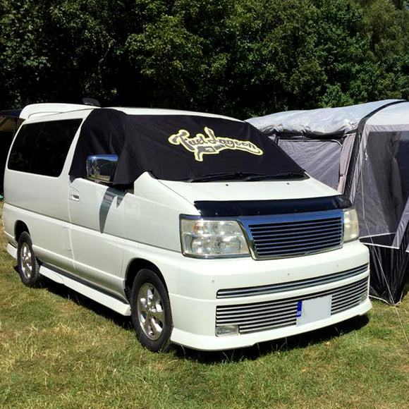Nissan Elgrand E50 Screen Cover - FL Logo Design