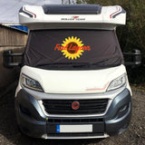Ducato, Boxer, Relay Motorhome Screen Wrap - FL sunflower