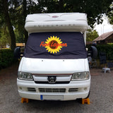 Ducato, Boxer, Relay Motorhome Screen Wrap 1993 - 2006 - FL sunflower