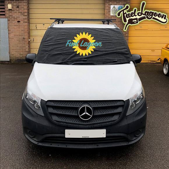 Mercedes Vito 447 Screen Cover - FL sunflower