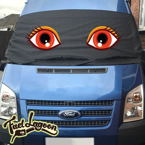 MK7 Transit Screen Wrap - Flo Eyes