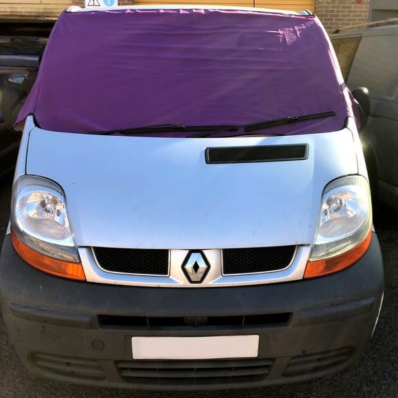 Trafic, Vivaro, Primastar Screen Cover - Plain Purple