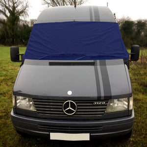 Mercedes Benz Sprinter (1st gen) Screen Cover - Plain Navy