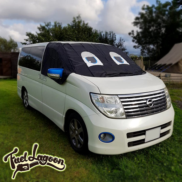 Nissan Elgrand E51 Screen Cover Eyes - Standard