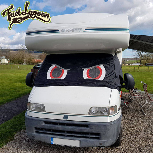 Ducato, Boxer, Relay Motorhome Screen Wrap 1993 - 2006 - Rocky Eyes