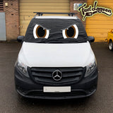 Mercedes Vito 447 Screen Cover Eyes - Rocky