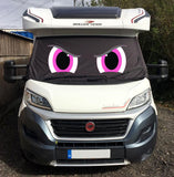 Ducato, Boxer, Relay Motorhome Screen Wrap - Rocky Eyes