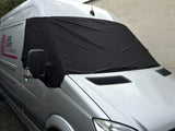 VW Crafter, Mercedes Sprinter Screen Cover Eyes - Rocky
