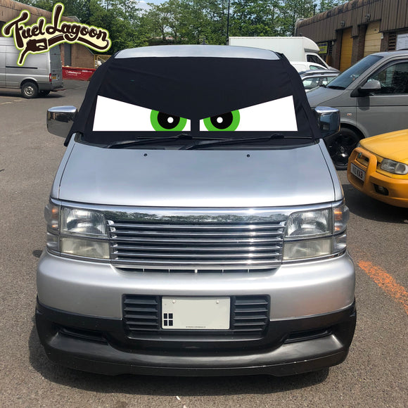 Nissan Elgrand E50 Screen Cover Eyes - Arthur