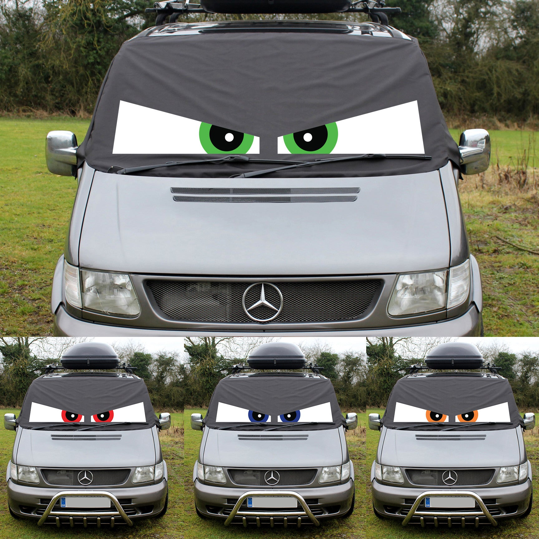 Mercedes Vito W638 Screen Cover Eyes - Arthur