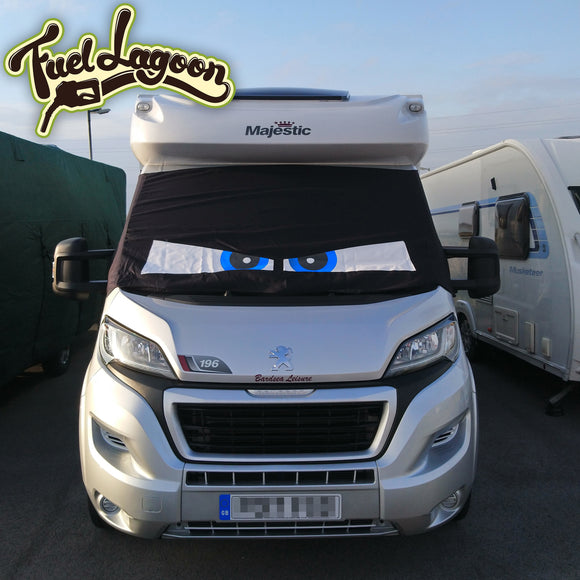 Ducato, Boxer, Relay Motorhome Screen Wrap - Arthur Eyes
