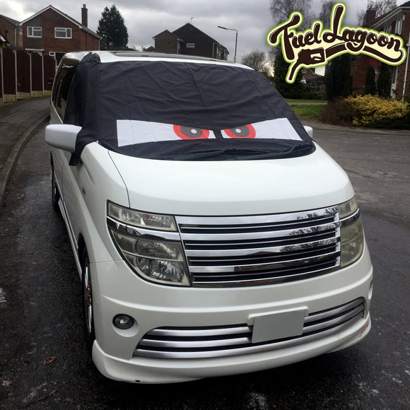 Nissan Elgrand E51 Screen Cover Eyes - Arthur