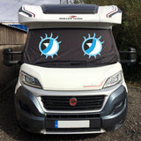 Ducato, Boxer, Relay Motorhome Screen Wrap - Betty Eyes