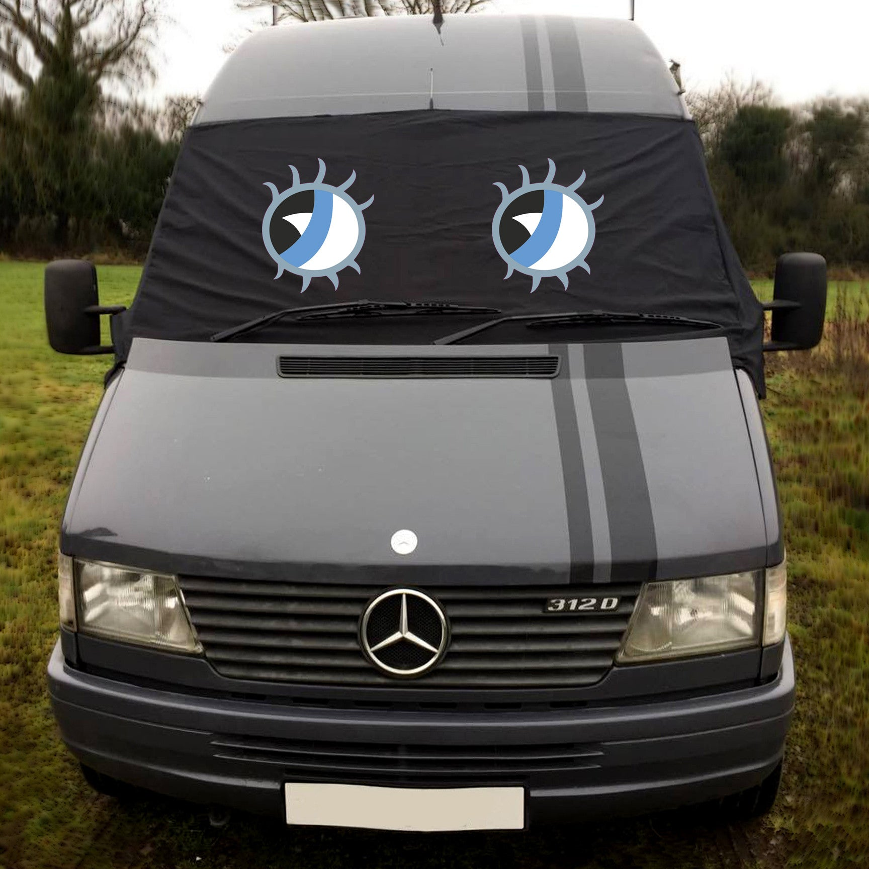 VW LT (2nd gen) Screen Cover Eyes - Betty