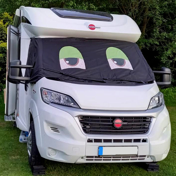 Ducato, Boxer, Relay Motorhome Screen Wrap - Blaze Eyes