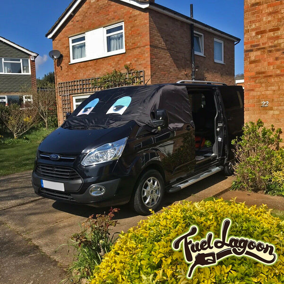 Ford Transit Custom Screen Wrap - Blaze Eyes