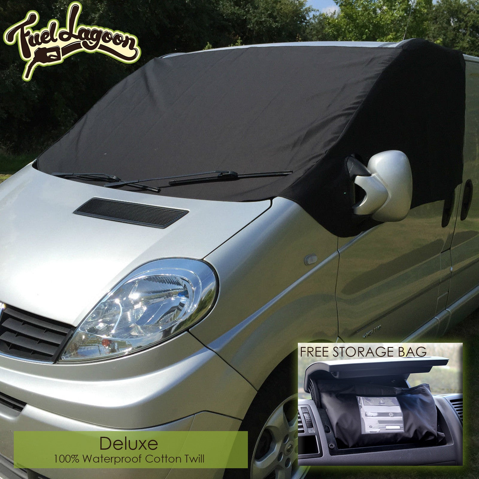 Vauxhall Vivaro Screen Cover - Deluxe Plain