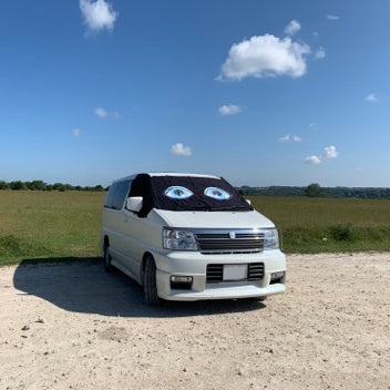 Nissan Elgrand E50 Screen Cover Eyes - Flo
