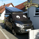 Ford Transit Custom Screen Wrap - Felix Eyes