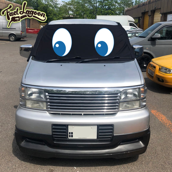 Nissan Elgrand E50 Screen Cover Eyes - Felix