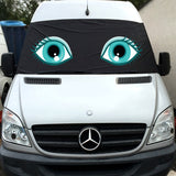 VW Crafter, Mercedes Sprinter Screen Cover Eyes - Flo